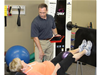 Troy Roehrs, PT with Barb K.